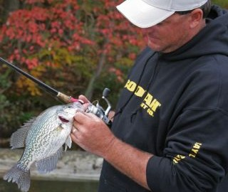 Crappie don't vanish after the frenzy of the spring spawning season ends, but for some reason, most crappie anglers do.