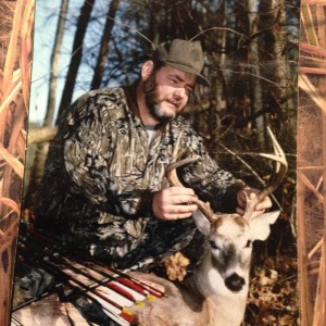1995 near West Point, MS  (home of Mossy Oak).  December Bow kill.