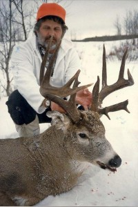 This massive nontypical comes from Manitoba, one of Smith's favorite places to hunt in Canada.