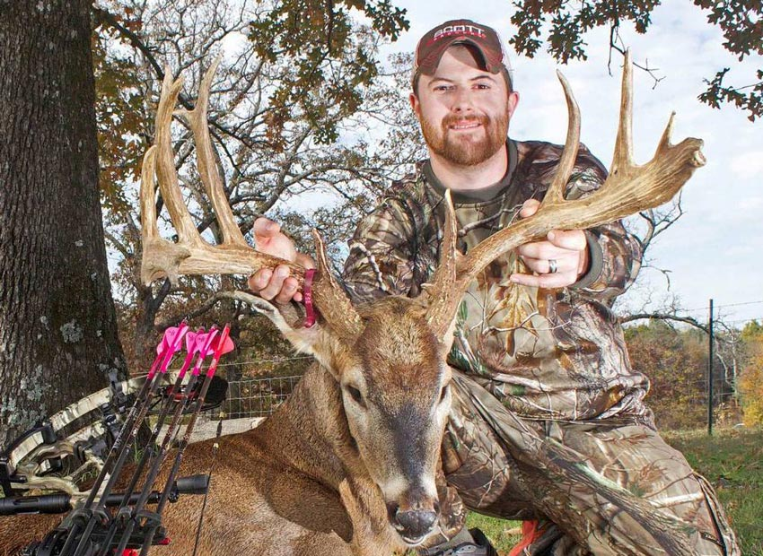 When public land is mentioned, most people do not think of urban hunts, but Chris Hacker took advantage of the deer overpopulation problem in Fort Smith, Arkansas to arrow this beautiful buck in 2013. The state of Arkansas has been steadily increasing the number of entries into the P&Y record book and that trend is expected to continue.