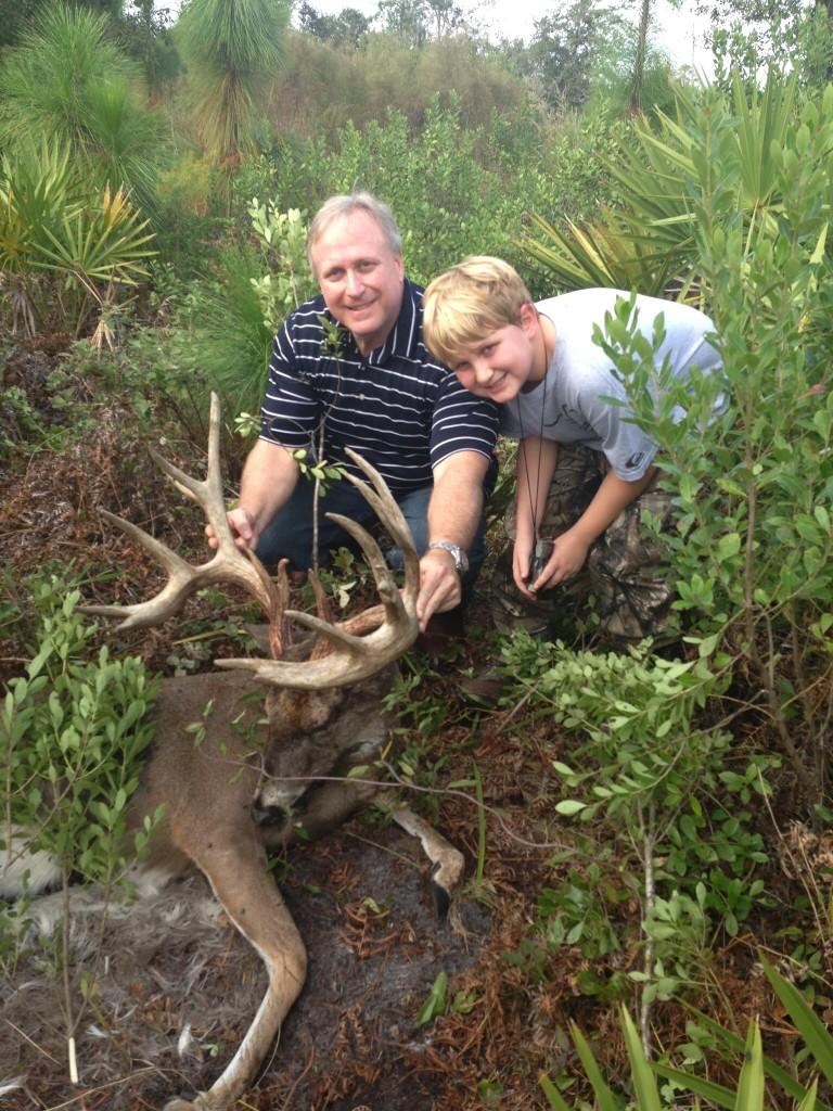 Deer lick in hancock county ohio