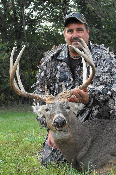 Steve Cononie used a crossbow to take this 147 5/8-inch trophy during the early season in Montgomery County, Maryland. Few people realize that Maryland consistently ranks in the top 20 of states to produce Pope & Young record book whitetails. It also ranks in the top three in the number of harvests per hunter in an average year. With an estimated whitetail population of about a quarter million deer, this sleeper state should impress once again in 2015.
