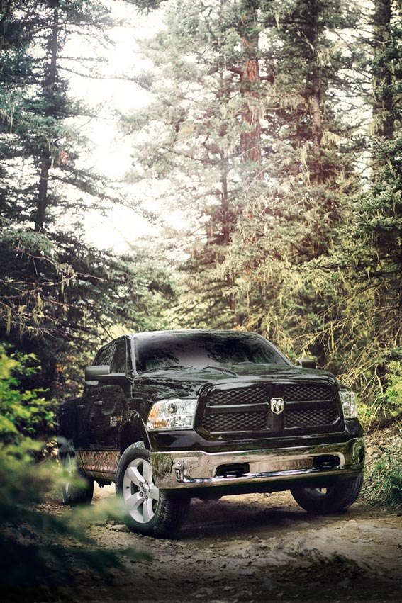 The Ram 1500 Outdoorsman