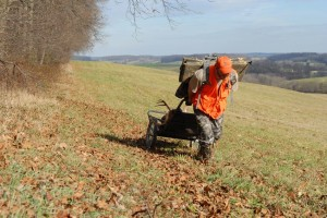 A Pennsylvania study found most hunters don't go more than a mile from any road.