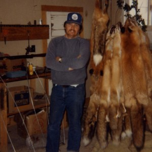 Stan credits much of his success as a whitetail hunter to his early days as a trapper.