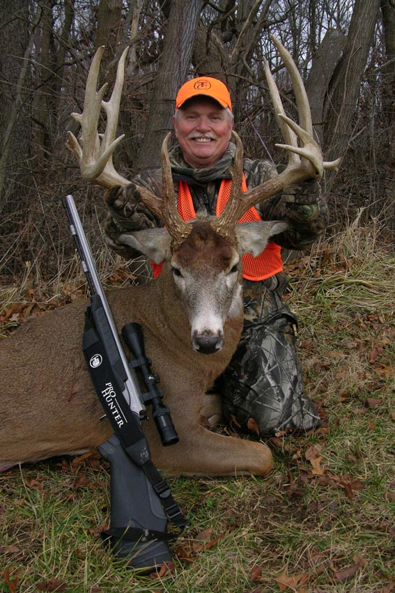 Stan shot this 200-class buck with a muzzleloader in Ohio. All photos courtesy Stan and Brenda Potts