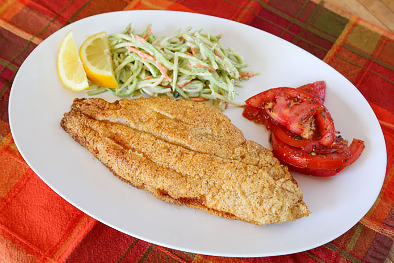 how to make fried catfish with panko