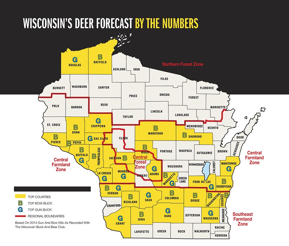 2015 Trophy Deer Forecast: Wisconsin
