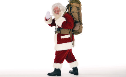 Santa is a sportsman, obviously. How else would he have known to give you that Zebco 303 or