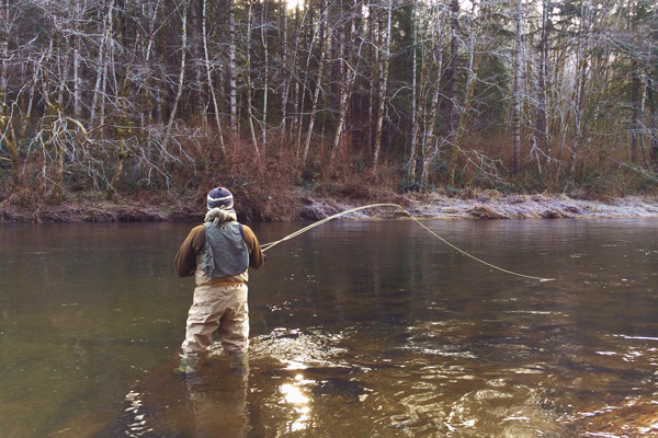 Fly fishing tips for winter smallmouth bass game fish for Smallmouth bass fly fishing