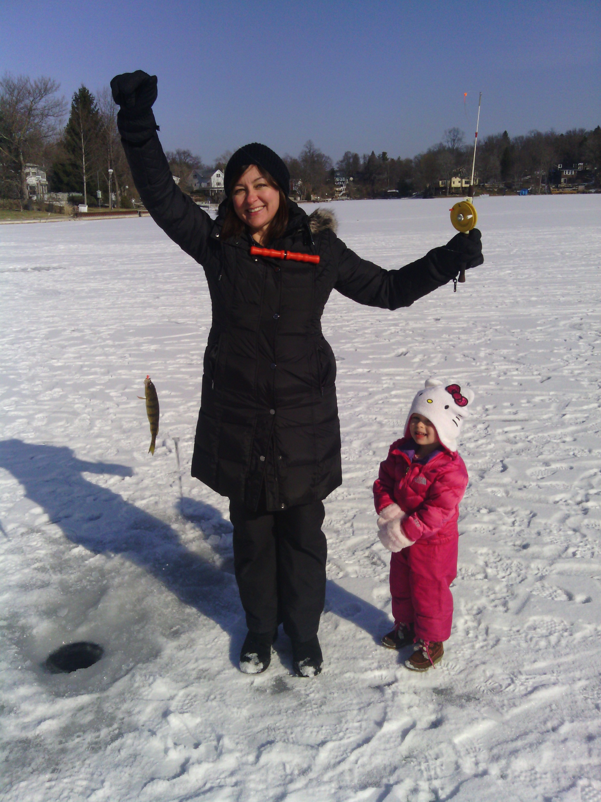 Ice fishing game fish for Ice fishing games free