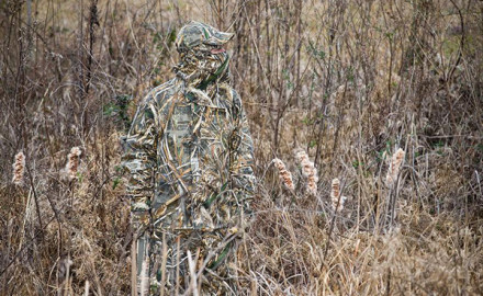 The Game & Fish staff took a look at the RealTree Max-5 camo patterns for waterfowl hunting