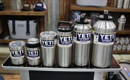 The all-new Rambler Bottle Series from YETI had folks at the 2016 ATA show wishing their soft