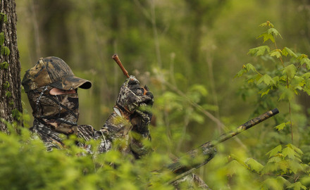 The first hint of spring is in the air, which means turkey hunters in Mississippi and Louisiana are