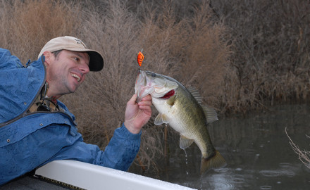 Plenty of fishing action is on the line any time you hit these great waters for largemouth and