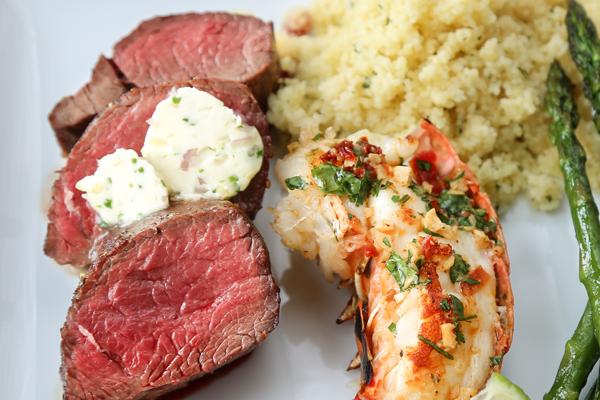 Venison Loin & Lobster