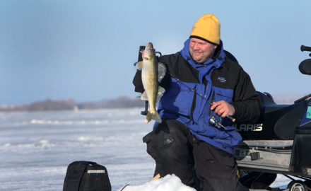 Winter Walleye Fishing, Fishing for Walleye