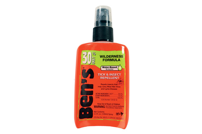 Tick spray for shed hunting