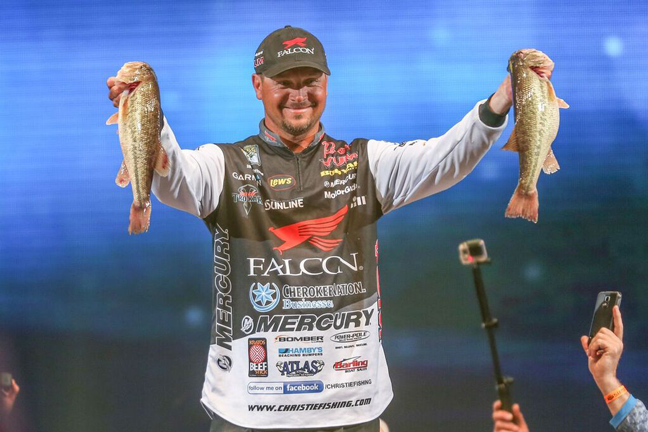 Top tips from the 2016 bassmaster classic pros game fish for Jason christie fishing