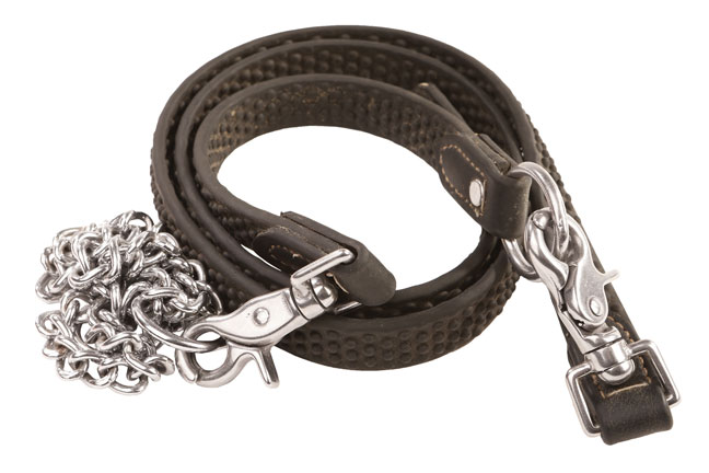 Slip chain for deer dog training