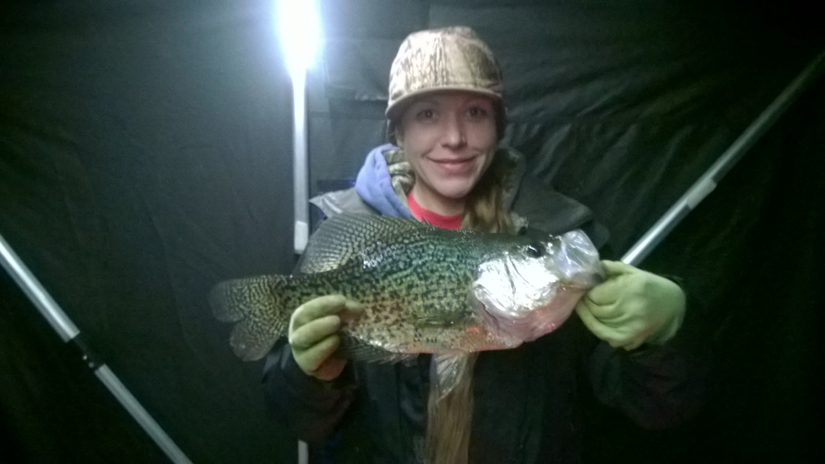 Monster crappie game fish for Crappie fishing game