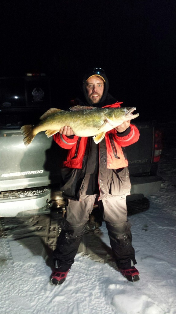 Ice fishing walleye st lawrence river game fish for St lawrence river fishing