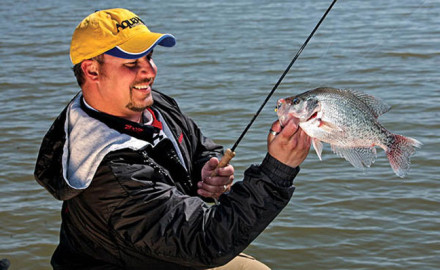 Crappie Fishing, Crappie Fishing tips around the Spawn