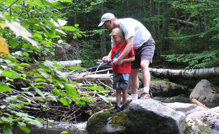 Try one of these five spots for a fun family fishing vacation this year.     Summer hasn't