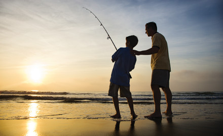 Pick one of these spots for your summer family angling vacation, and fun is sure to result.  If
