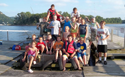 Here are some ideas for kid-friendly fishing trips.