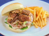 Morel and Turkey Burger Recipe