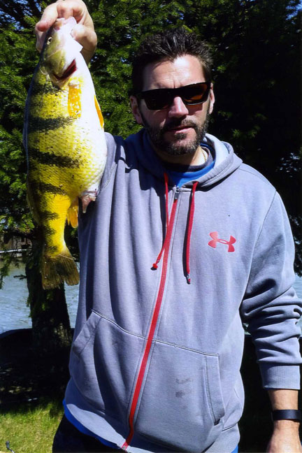 David Berg's Ohio State-Record Yellow Perch