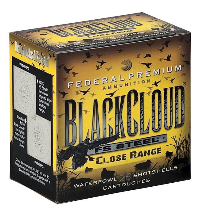 Federal Black Cloud Close Range