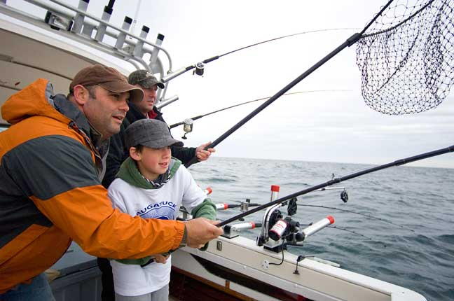 Michigan Fishing: Big-Water Salmon and Trout