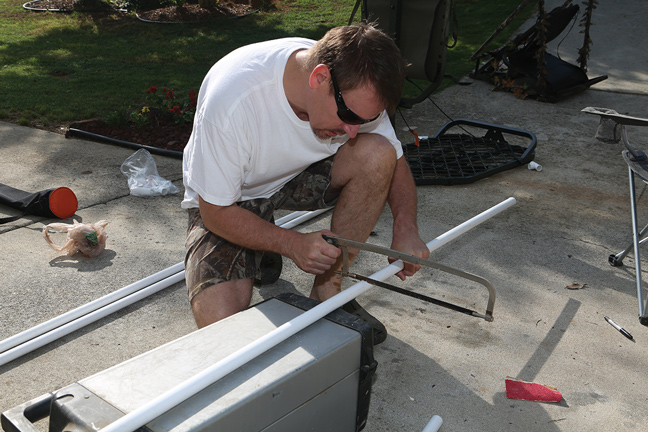 Cutting Pipe for Hang-on stand
