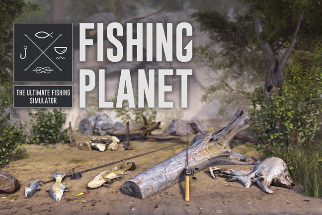 Fishing planet first ever virtual reality fishing game for Fishing vr games