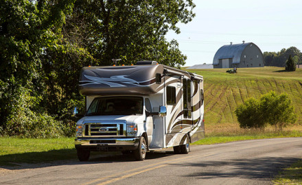 An RV offers the perfect way to tour the Adirondacks at a leisurely pace. Kitchen, restroom and sleeping accommodations travel right with you. Photo Courtesy Go RVing, Inc.