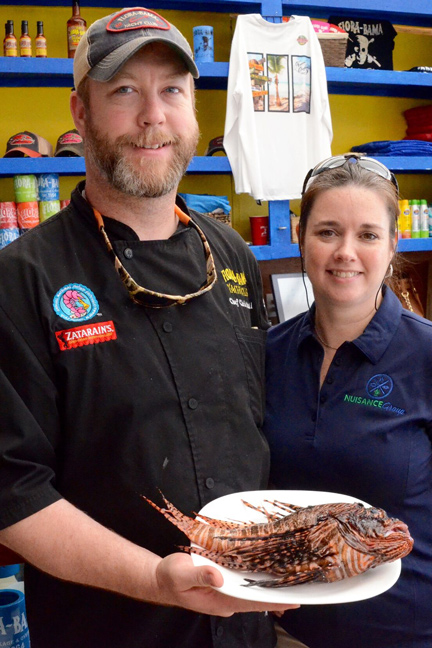 Tips for Cooking Invasive Lionfish