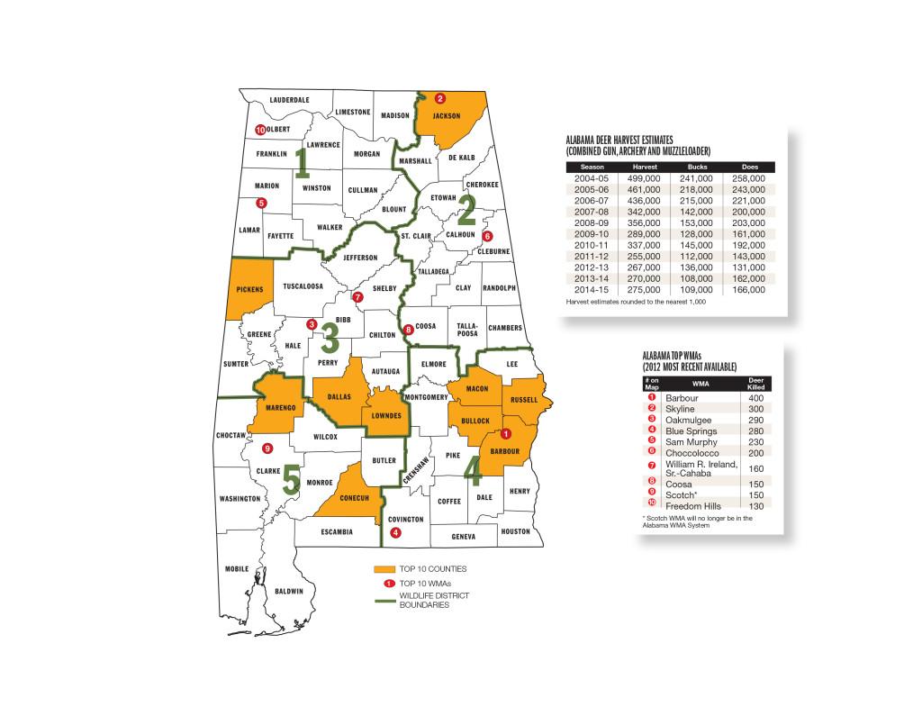 Alabama Forecast Map