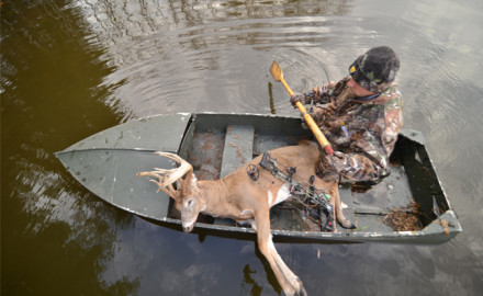 Rain bothers hunters, not deer. Gear up and share the woods with whitetails on rainy days.