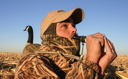 Kentuckian Field Hudnall, owner of Field Proven Calls, knows how to talk to Canada geese. As a