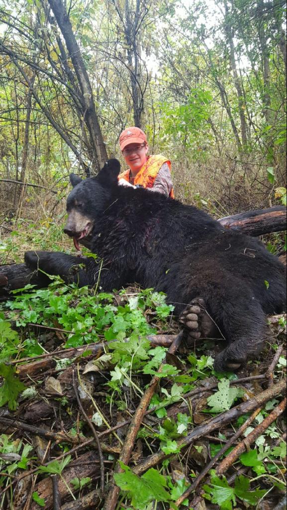 deer hunt Columbus Day weekend. 15 year old Gavin Weed shot a 300 lb ...