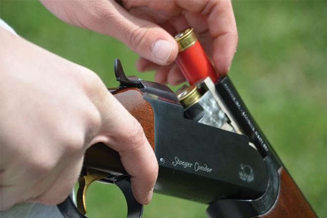 Shooting Shotgun