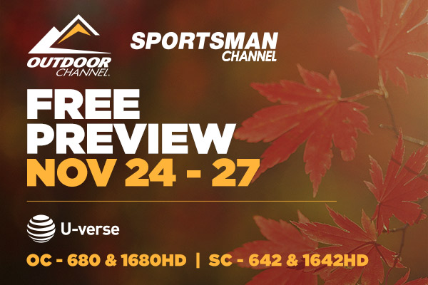AT&T Free Preview of Outdoor Channel & Sportsman Channel