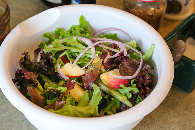Canada Goose Salad