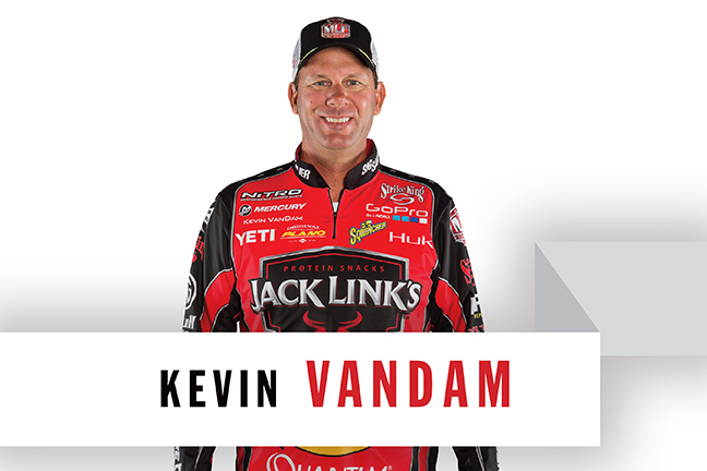 bass crankbaits, Kevin Vandam