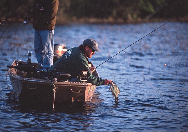 Best Winter Crappie Fishing