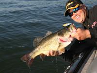 California bass fishing