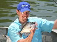 Minnesota crappie fishing