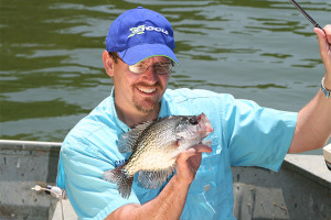 Michigan crappie fishing photo by Ron sinfelt